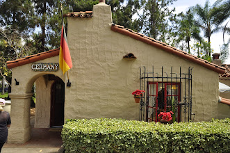 Photo: San Diego - Balboa Park - Germany House on the day they became World Champion