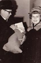 Photo: 19670123 Asko, Vauva, Salli Kotiintulo