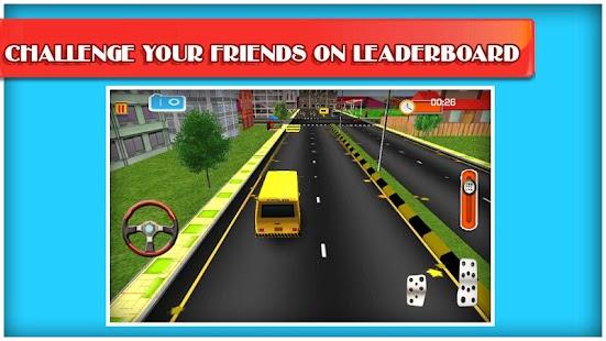 School Bus 3D Free screenshot