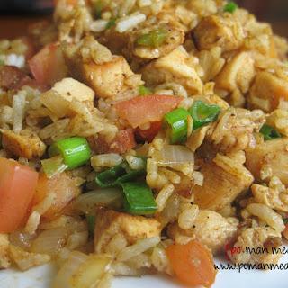 Cajun Chicken, Sausage And Rice.