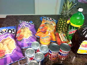 Photo: Ready to create our snacks!