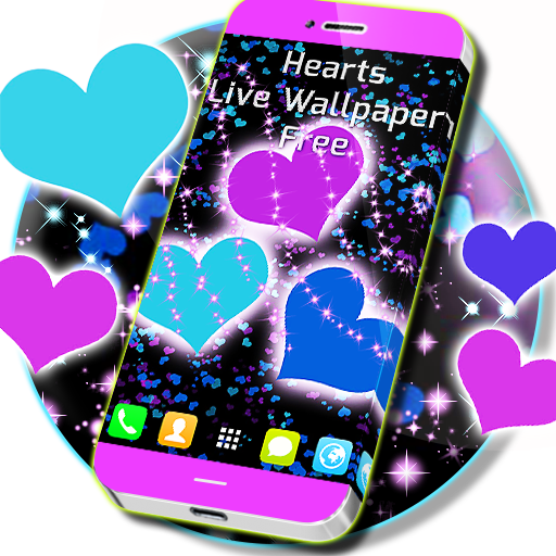 Hearts Live Wallpaper Free