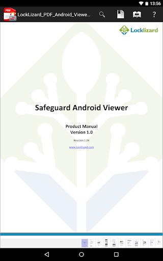 LockLizard Safeguard Viewer