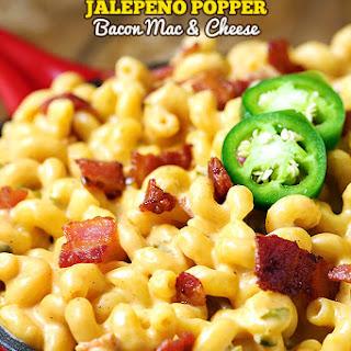 Jalapeno Popper Bacon Mac and Cheese Recipe