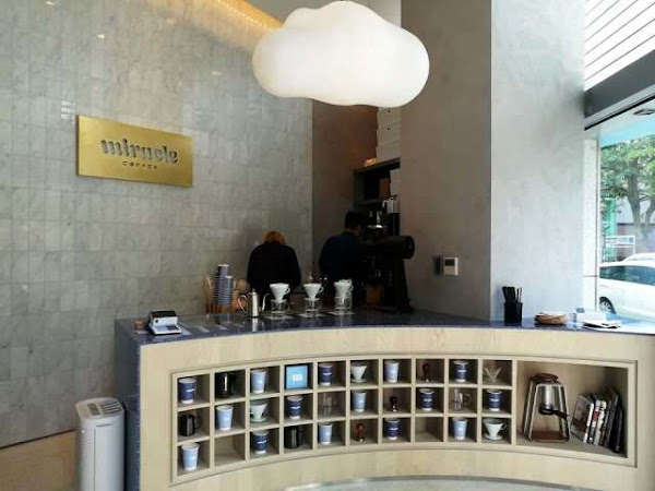 Single Origin espresso & roast打造的質感咖啡外帶吧~  Miracle Coffee