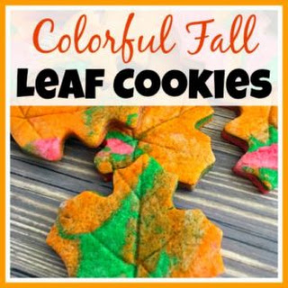 How to Make Colorful Fall Leaf Cookies.
