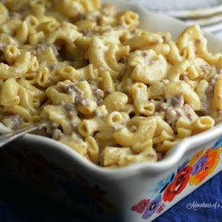 Instant Pot Homemade Hamburger Helper.