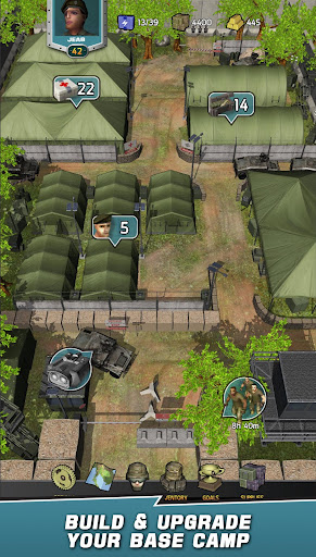 Télécharger VDV MATCH 3 RPG: ZOMBIES! APK MOD (Astuce) screenshots 1