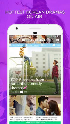 KDRAMA Amino for K-Drama Fans 2.2.27032 screenshots 1