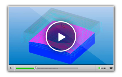 Использование опции Сравнительный просмотр при симуляции обработки