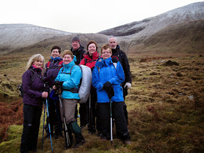 Photo: B walk around Cush Mountain, Sunday January 26, 2014, leader Brendan Sheils.