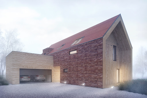 projekt House X10 - drewno HBE