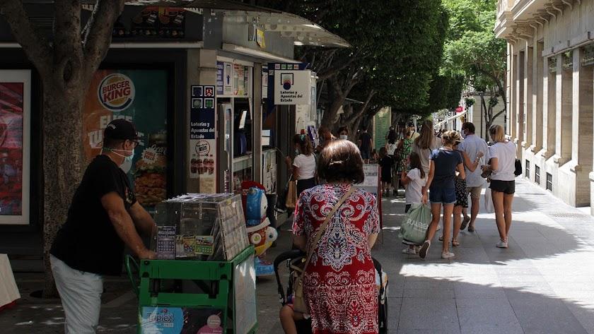 Los casos de coronavirus en niños en Almería han supuesto en la última semana casi la mitad del total de Andalucía.