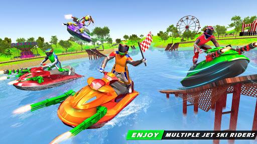 Jet Ski Racing Games: Jetski Shooting - Boat Games Apk 1