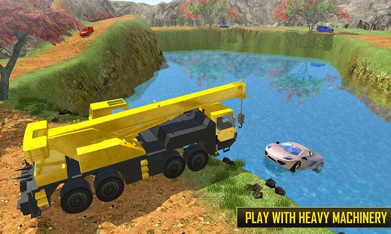 Tourist Hill Climbing Rescue- screenshot