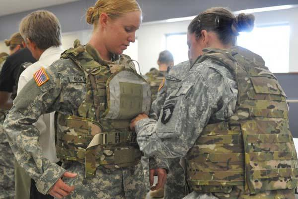Army Designs Body Armor for Women and Batteries | Military.com