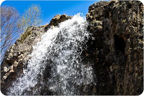 на Медовые Водопады в
