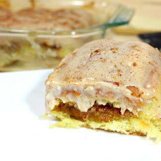 Gooey Cream Cheese Cinnadish.