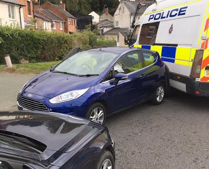 Drug arrests after car chase