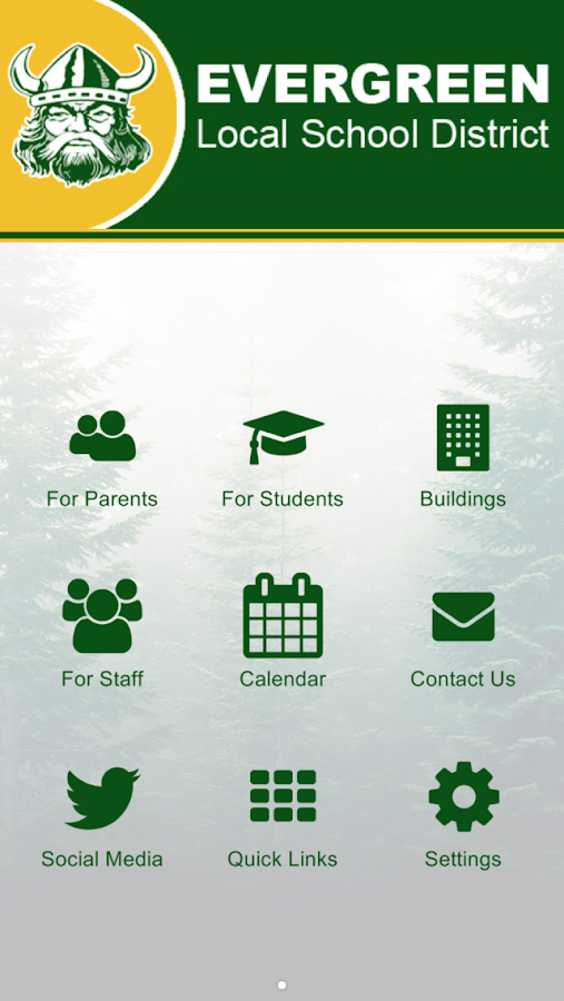 Evergreen Local Sch District- screenshot