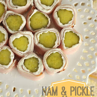 Ham and Pickle Roll Ups.