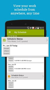 HotSchedules Screenshot