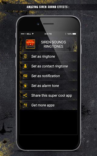 Aplikacija za sirenu za android