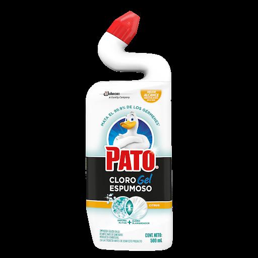 Cloro En Gel Pato Citrus 500Ml