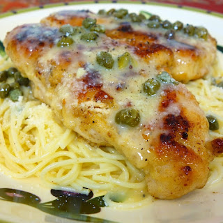 Oven Baked Lemon Chicken with Capers.