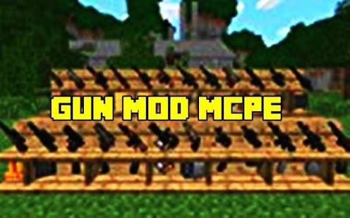 Gun Mods Inventory MCPE Screenshot