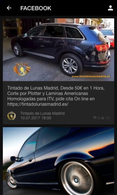 Tintado de Lunas Madrid- screenshot