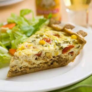 Mexican Vegetarian Quiche.