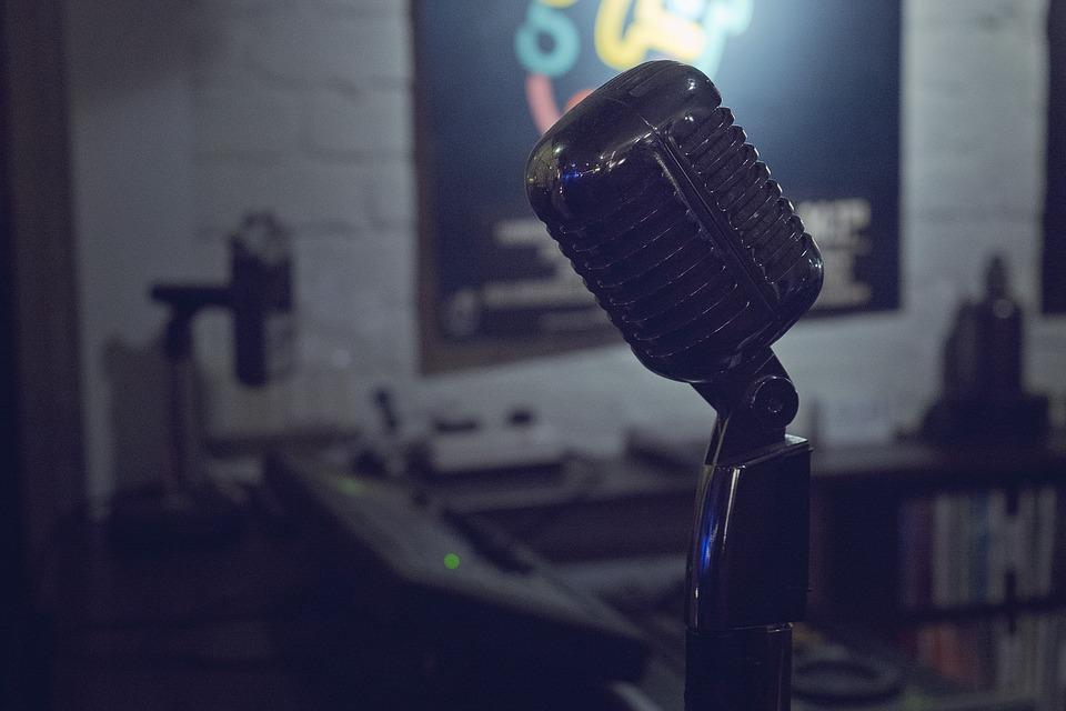 Micro, Microphone, Jazz, Recording, Audio, Music, Sound