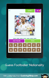 Guess Footballer Nationality APK screenshot thumbnail 17