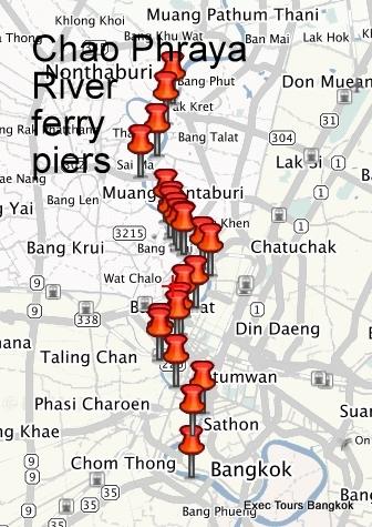 Chao Phraya River Bangkok SM Hub