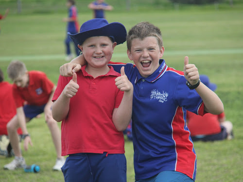 Will Burns and Don Watkins enjoyed themselves at the Cricket NSW T20 blast last month.