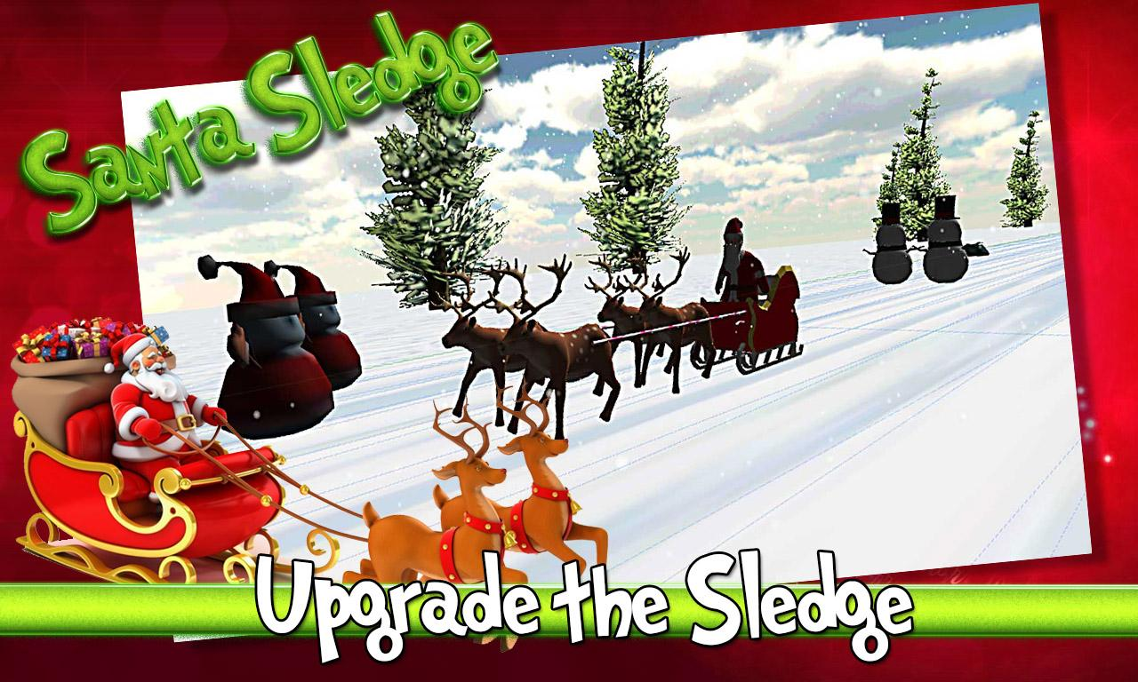santa claus sleigh ride stunts android apps on google play