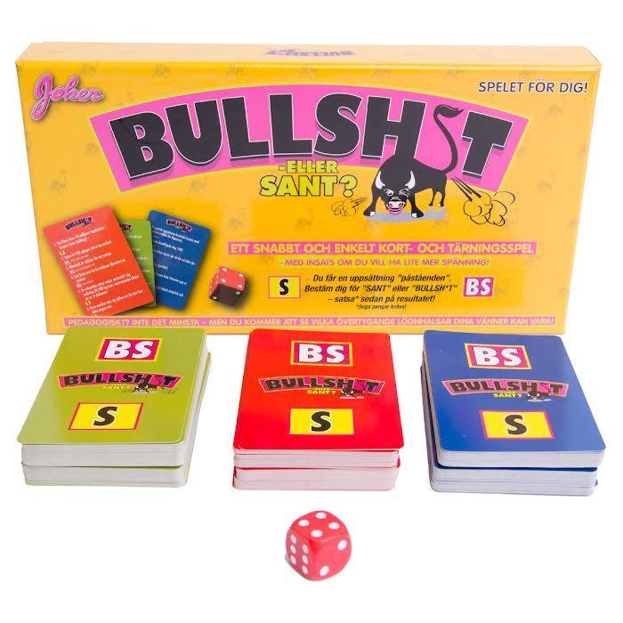 bullshit eller sant? kortspel