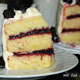 Blackberry Daiquiri Cake