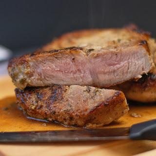 How to Make Perfect Pan Seared Pork Chops