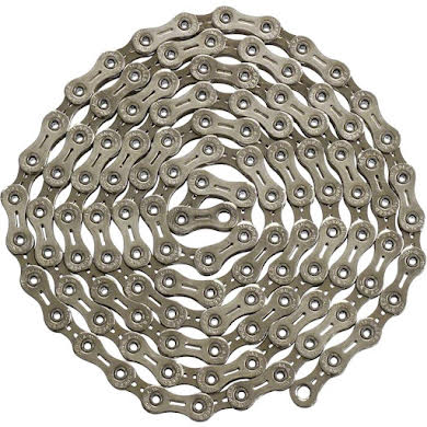 YBN Nickel Plated Silver 11-speed Chain, 116 Links