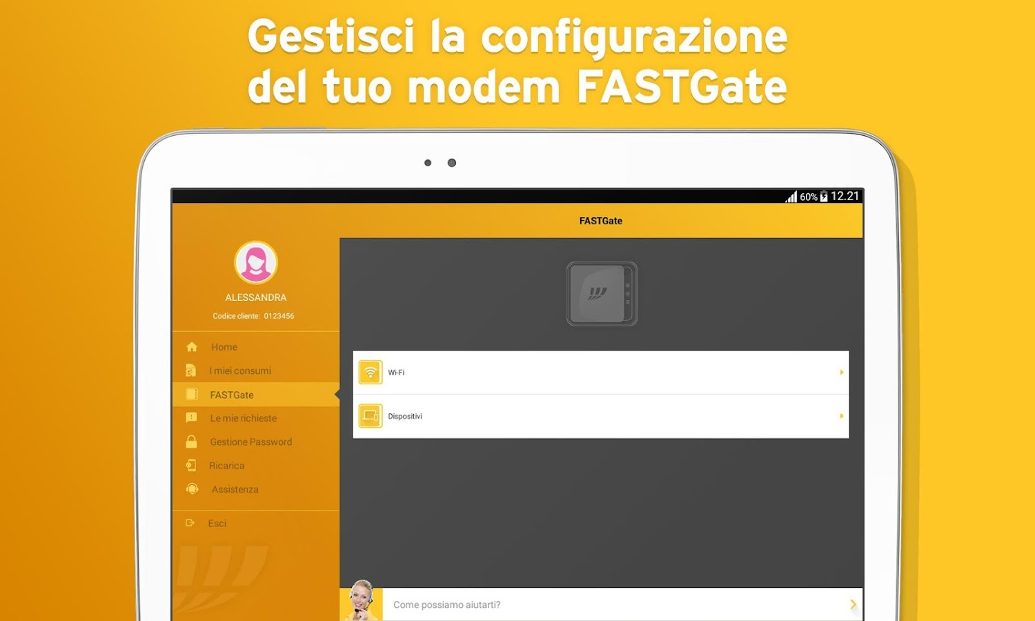 MyFastweb- screenshot