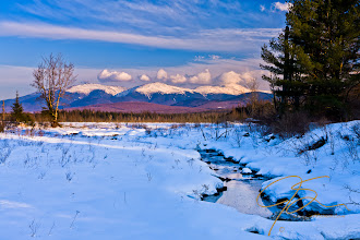 Photo: The Presidential Range From Pondicherry NWR With Stream.