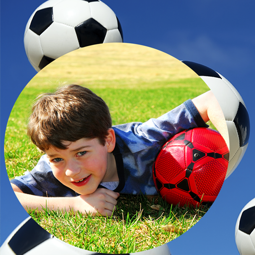 Baixar quadros de futebol para fotos para Android