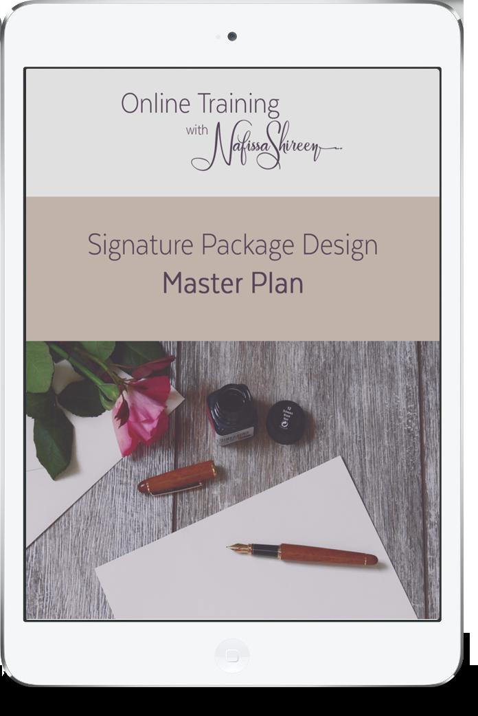 Signature Package Design Master Plan