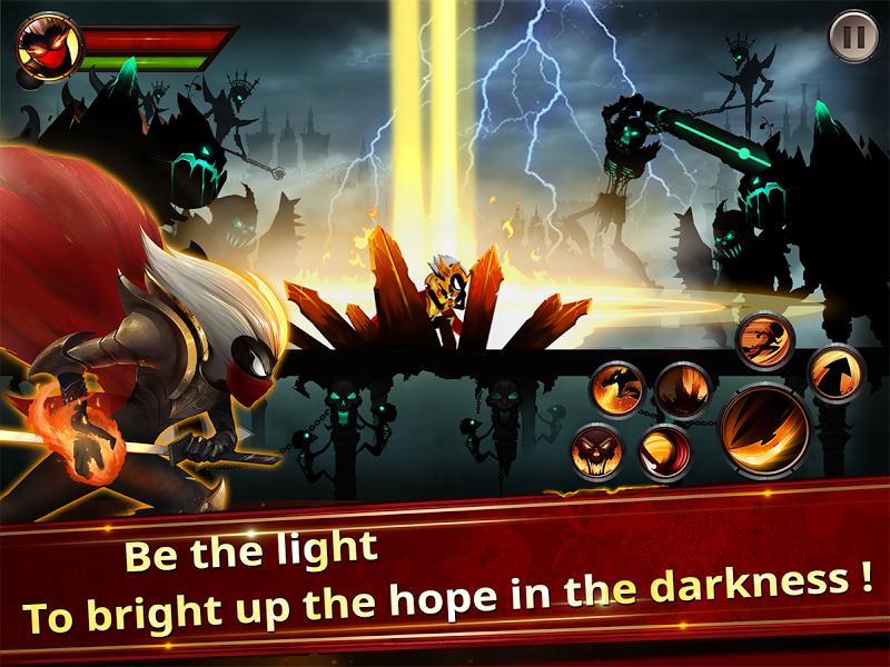 Stickman Legends - Ninja Warriors: Shadow War Screenshot 7