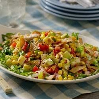 Avocado-Corn Salad with Creamy Salsa Dressing