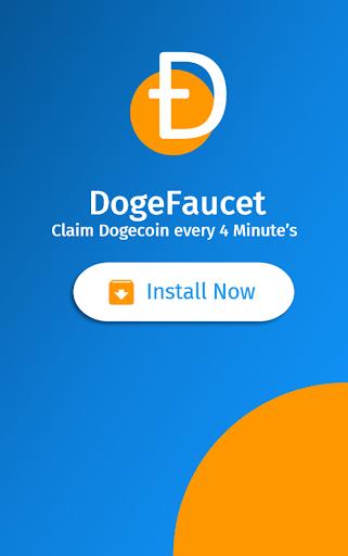 DogeFaucet: Free Dogecoin 4.1.5 screenshots 1