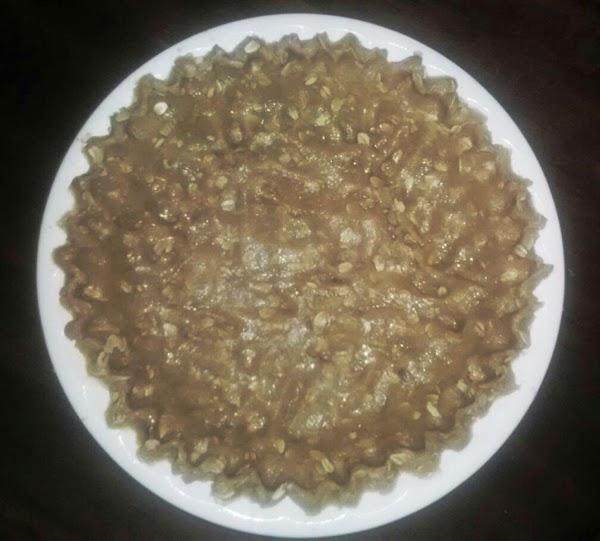 Make crust. See recipe.http://www.justapinch.com/recipes/dessert/pie/honey-oat-pie-crust.html
