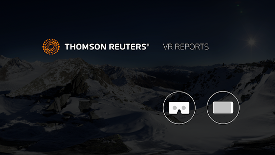 Thomson Reuters VR Reports- screenshot thumbnail